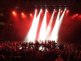 Bild: Greenhead College Konzert - Dirigent Simon Jacobs