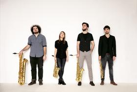 Bild: Arcis Saxophon Quartett & Vineta Sareika