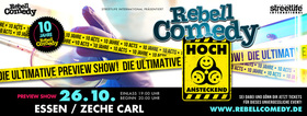 RebellComedy - Hoch ansteckend (Preview) - Die ultimative Previewshow