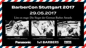 Bild: BarberCon 2017 by Panasonic, 1o1 Barbers & FMFM