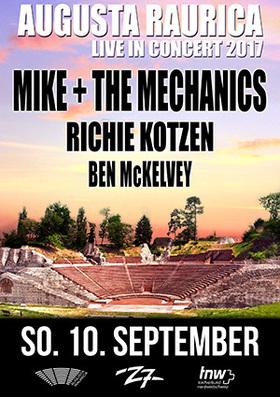 Bild: MIKE & THE MECHANICS - RICHIE KOTZEN - BEN McKELVEY - Augusta Raurica Live in Concert 2017