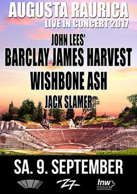 JOHN LEES´ BARCLAY JAMES HARVEST  - WISHBONE ASH - JACK SLAMER - Augusta Raurica Live in Concert 2017
