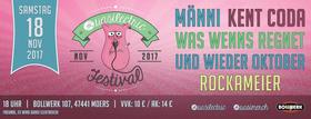 Bild: Quasilectric Festival - MÄNNI // Kent Coda // Was Wenns Regnet // Und Wieder Oktober // Rockameier