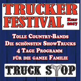 Bild: Trucker- & CountryFestival - Tagesticket Freitag, 02.06.2017