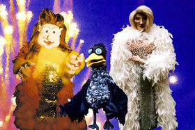 Bild: Jubiläums Revue an Fäden - Marionettenrevue zum 25jährigen Bestehen des Theaters