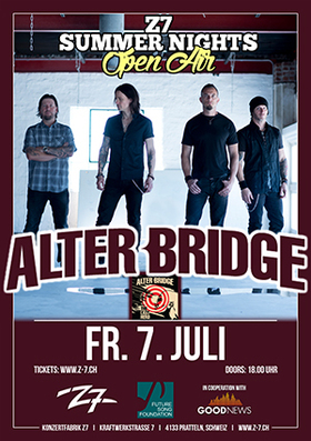 Bild: ALTER BRIDGE - Z7 SUMMER NIGHTS OPEN AIR