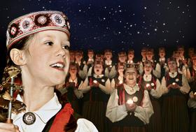 Bild: Weihnachtserwartung mit dem lettischen Mädchenchor Cantus