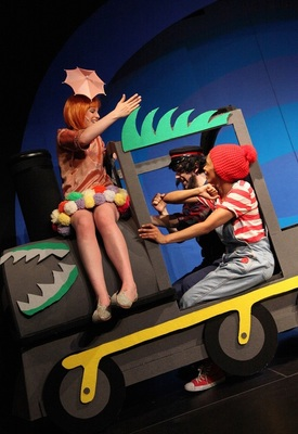 Bild: Jim Knopf und Lukas der Lokomotivführer - Kindertheater ab ca. 4 Jahre