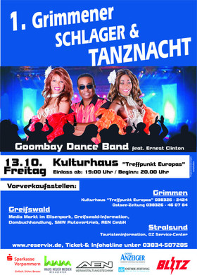 Bild: Schlager & Tanznacht - 1. Grimmener Schlager & Tanznacht