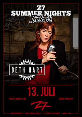 Bild: BETH HART - Z7 SUMMER NIGHTS INDOOR