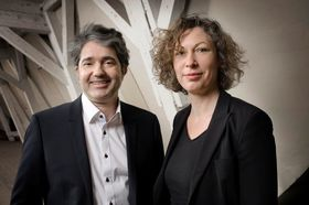 Bild: Live im Zeltner: Bettina Ostermeier & Stefan Grasse