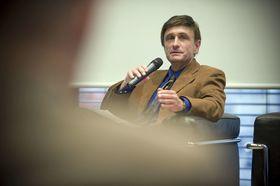 Bild: Forum SÜDWEST PRESSE-Korrespondenten live - Peter de Thier - Zeitenwende in den USA !