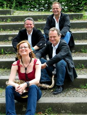 Bild: Jazzquartett Lotte la Boom