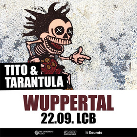 "Bild: Präsentiert von The Living Proof Agency, Slam und It Sounds: Tito & Tarantula - ""Live in Concert 2017"