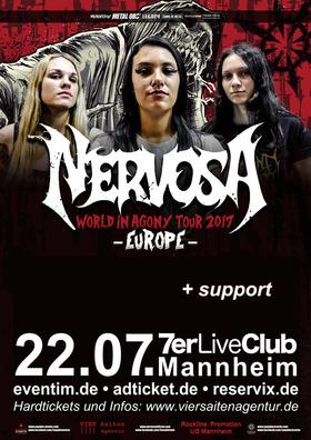 Bild: Nervosa + support