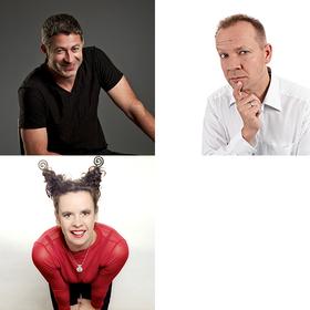 Bild: After-Work meets Comedy hoch 3 - Rolf Miller. Thomas Schreckenberger. Nessie Tausendschön.