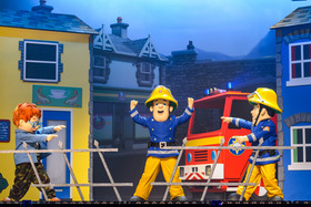 Bild: Feuerwehrmann Sam rettet den Zirkus - Theater für Kinder und Jugendliche