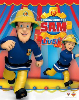 Bild: Kindertheater: Feuerwehrmann Sam - Feuerwehrmann Sam rettet den Zirkus - für Kinder ab 3 Jahren