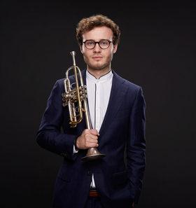 Bild: Simon Höfele, Trompete & Frank Dupree, Klavier - 1. Altstadtkonzert 2017/2018