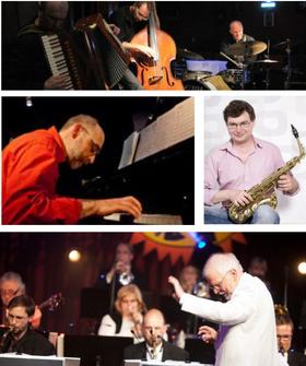 Bild: 16. Fürstenwalder Jazztage: Jazz Band Ball - Joe's Bigband + Tango Transit + Nico Lohmann + Albrecht Gündel vom Hofe