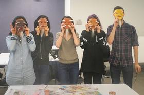 Bild: Masken-Workshop - Nippon Culture