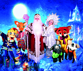 """Weihnachtliche Abenteuer im Reich der Puppen! - Moskauer Theater """"BALAGAN"""" in einem musikalischen Spektakel"""