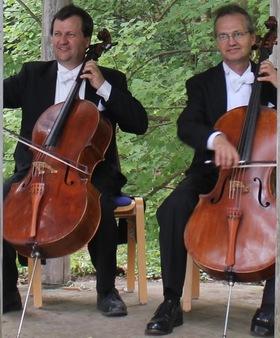 Bild: Gärtner-Duo: