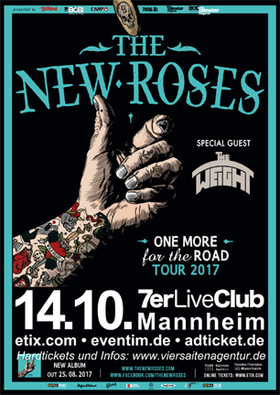 Bild: The New Roses + Special Guest - ONE MORE FOR THE ROAD 2017