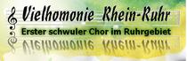 Bild: Vielhomonie - Erster schwuler Chor im Ruhrgebiet