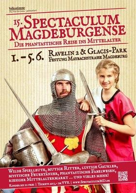 Bild: 15. Spectaculum Magdeburgense - Tageskarte Montag