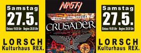Bild: Crusader - Saxon Tribute  Support: NASTY five