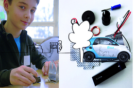 Bild: Elektromobilität - Wie fahren Autos mit Strom? - Genius Kinderferienprogramm
