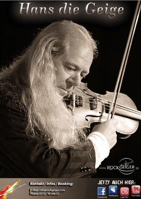 """Bild: Rockgeiger """"Hans die Geige"""" - """"X-mas-Rock zum Advent"""" - Rockgeiger """"Hans die Geige"""" - """"X-mas-Rock zum Advent"""""""