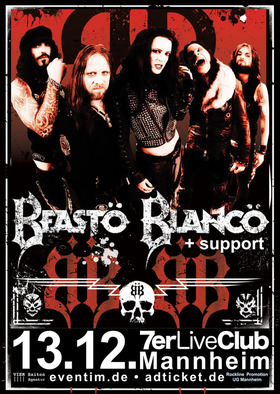 Bild: BEASTÖ BLANCÖ + support - Dead of Winter - Tour 2017