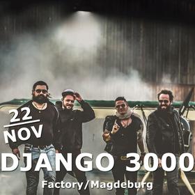 Bild: Django 3000 - Im Sturm Tour 2017