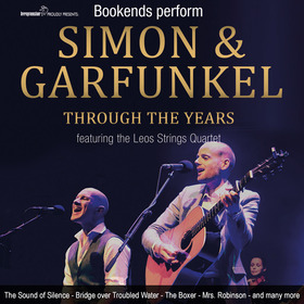 Bild: SIMON & GARFUNKEL - THROUGH THE YEARS - Live in Concert performend by Bookends and the Leos Strings Quartet