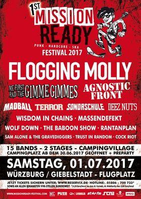 Bild: Mission Ready Festival 2017 - Busshuttle Mission Ready Festival 2017 - Verschiedene Busrouten
