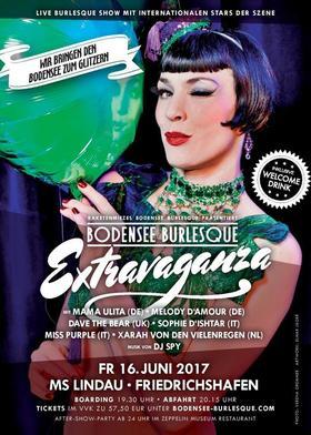 Bild: 3. Bodensee Burlesque Extravaganza - Live Burlesque Show mit Internationalen Stars der Szene