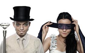 Bild: Trust me - Artistische Paare, die sich bedingungslos aufeinander verlassen können.