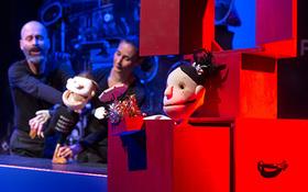 Bild: Die große Wörterfabrik - Puppentheater nach dem Bilderbuch von Agnès de Lestrade und Valeria Docampo