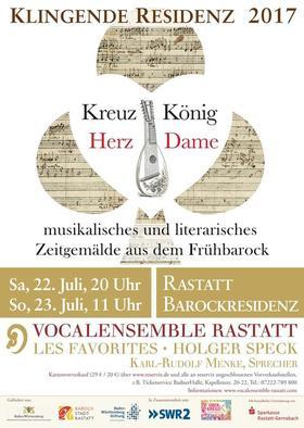 Bild: Klingende Residenz: Kreuz König - Herz Dame - Musikalisches und literarisches Zeitgemälde aus dem Frühbarock
