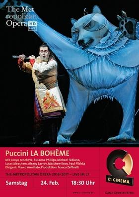 Bild: Die 12. Spielzeit der Metropolitan Opera live im C1 Cinema: Puccini LA BOHÈME
