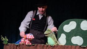 Bild: Das Kleine Ich bin Ich - Figurentheater nach Mira Lobe, gespielt vom HalloDuTheater, Bochum