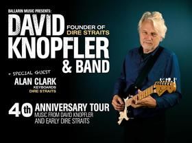 Bild: David Knopfler & Band  -  40th Anniversary Tour 2017