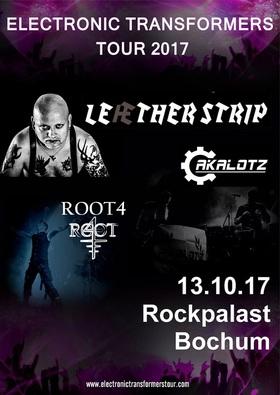 LEAETHER STRIP, ROOT4 und Akalotz