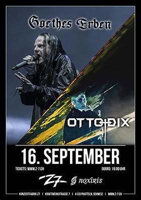 Bild: GOETHES ERBEN - OTTO DIX - Co-Headliner Show
