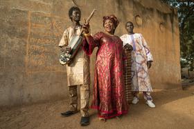 Bild: Klangkosmos Weltmusik - Trio Da Kali (Mali)