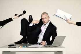 Bild: Hans Gerzlich - So kann ich nicht arbeiten!
