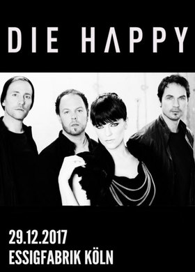 Die Happy - 25th Anniversary Kick off Tour 2017