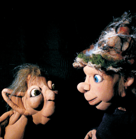Bild: Hörbe mit dem großen Hut | KinderTheaterFestival